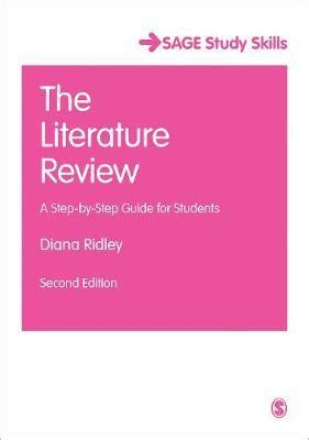 Literature review scaffold training